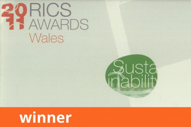 RICS Wales Awards, Sustainability, Winner 2011