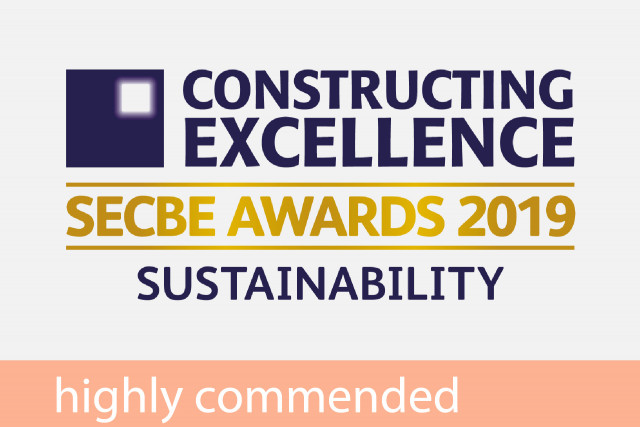 Constructing Excellence SECBE Highly Commended (Sustainability) 2019