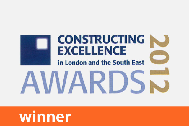 Constructing Excellence Awards, Building Performance, Winner 2012