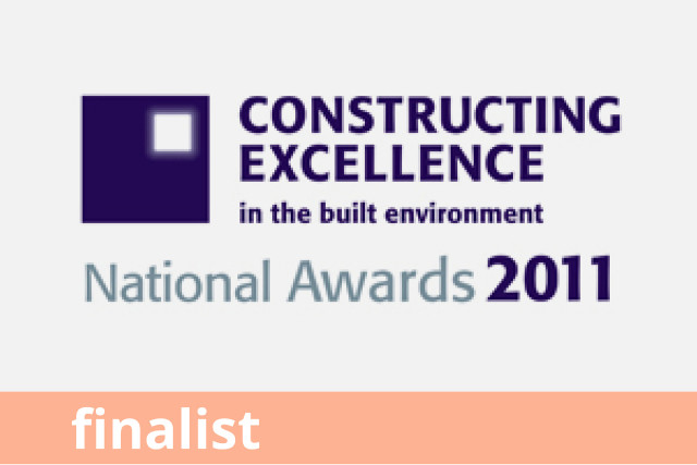 Constructing Excellence Awards, Innovation, Finalist 2011