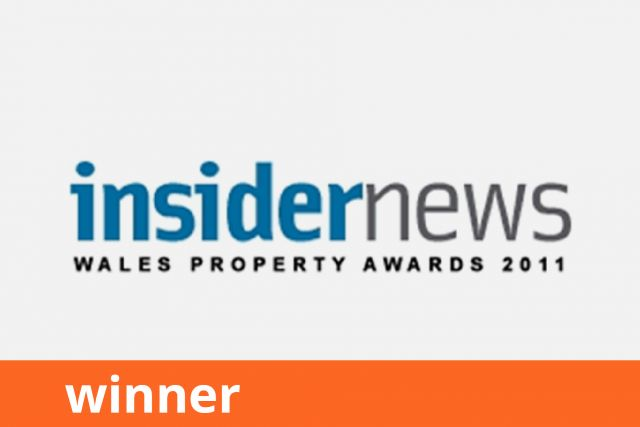 Insider News Wales Property Awards, Sustainable Development of the Year, Winner 2011