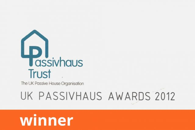 Passivhaus Trust UK Passivhaus Awards, Retrofit, Winner 2012
