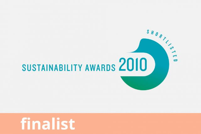 Sustainability Awards, Finalist 2010